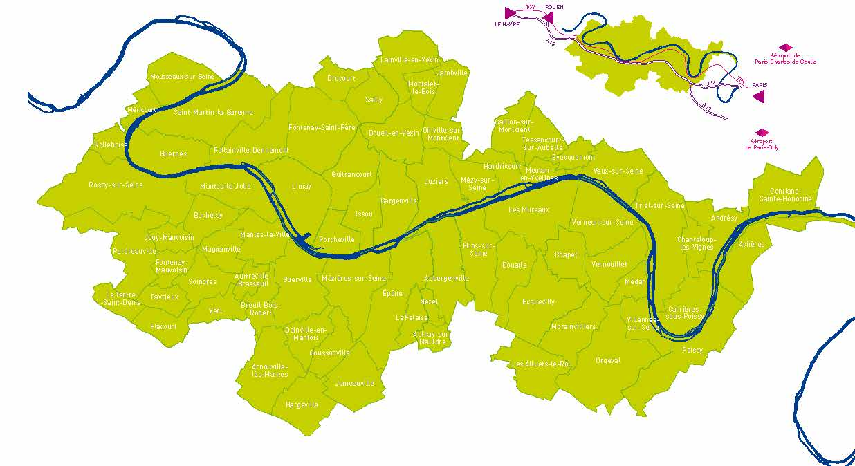 GPS&O - territoire Grand Paris Seine & Oise
