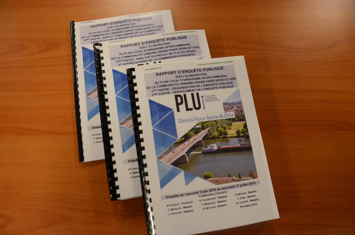 PLUi GPS&O - mise en ligne du rapport d'enquête